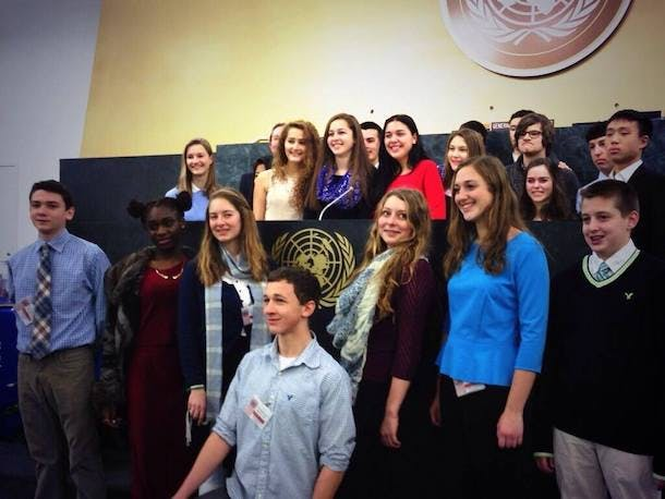 Youth Assembly at the UN