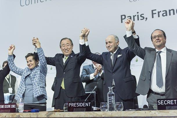 Closing Ceremony of COP21