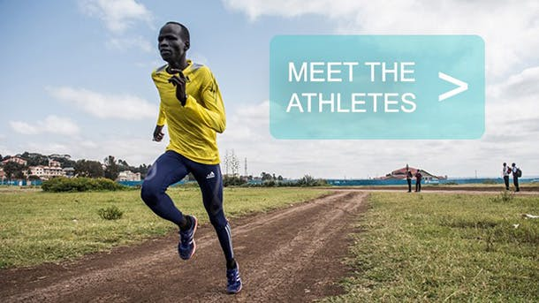 Meet tjhe athletes