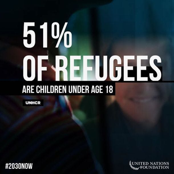 Refugee children stat 610