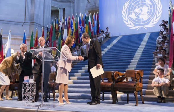 UN 70th Anniversary Charter Signing