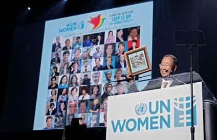 Photo: UN Photo/Chasi Annexy (Copyright UN Women)