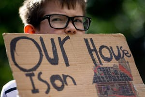 Abner on school climate strike.