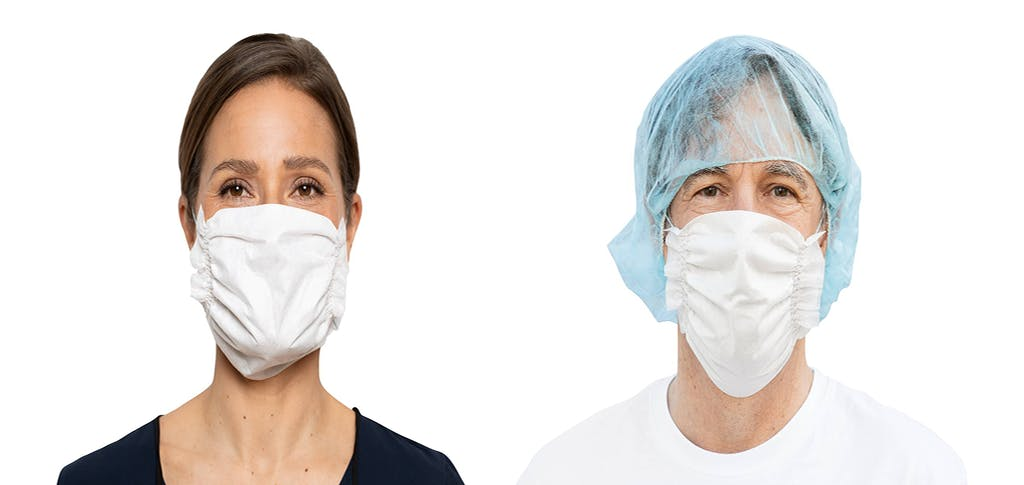 Sample masks from Essity