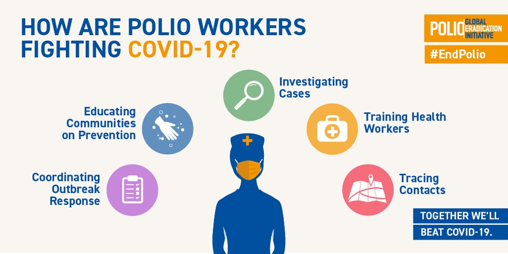How polio workers are fighting COVID-19