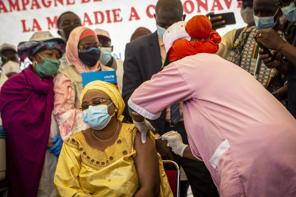 Women Vaccinated in Mali