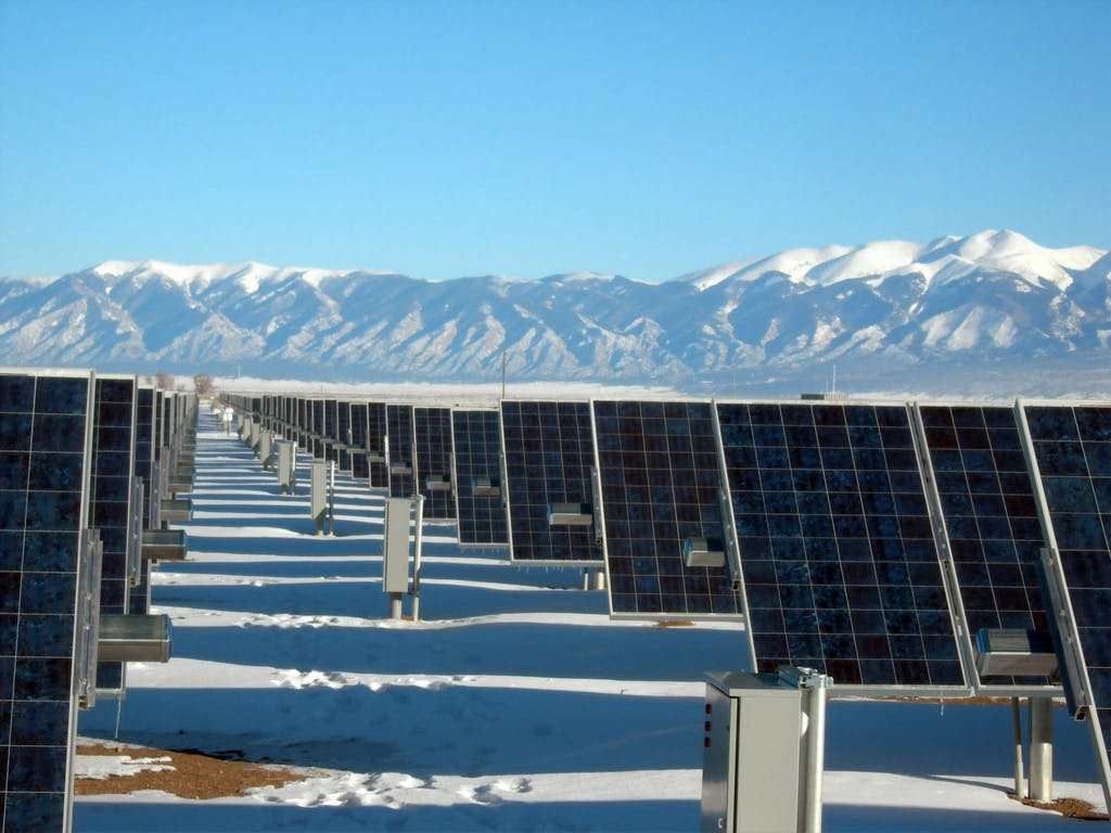 Solar Panels in Colorado.