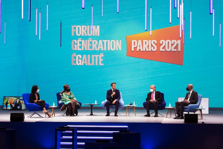 World leaders committed to long-lasting, transformative progress on gender equality.